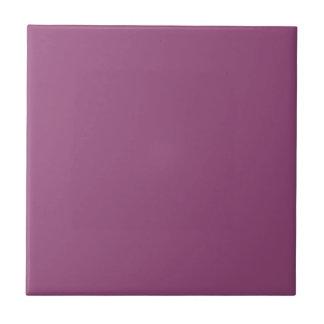 PLUM  (solid purple color) ~ Tile