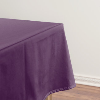 Plum Solid Table Cloth