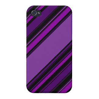 """ Plum Static"" Pattern iPhone 4/4S Case"