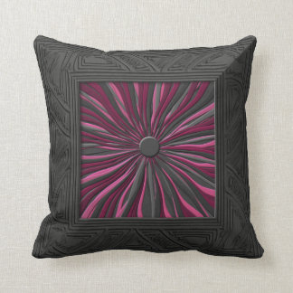 Plum Surprised 20 inch Sq Toss Pillow