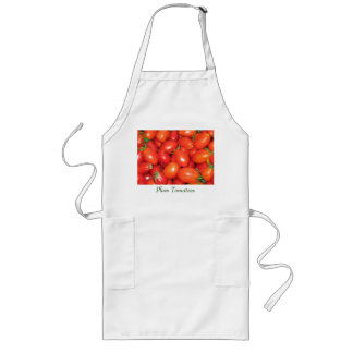 Plum Tomatoes Long Apron