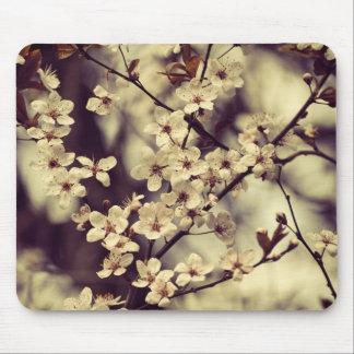 Plum tree blossom mousepad