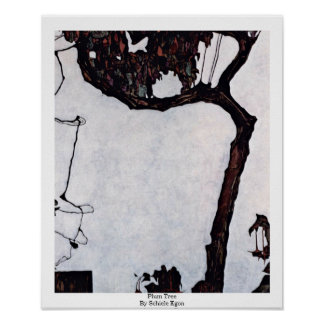 Plum Tree By Schiele Egon Poster