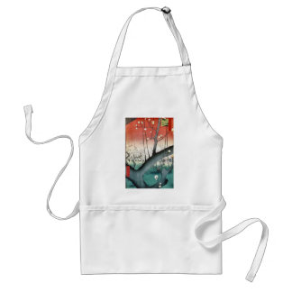 Plum - Vintage Japanese Print Tees and Gifts Aprons