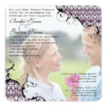 Plum Your Photo Wedding Invite- I marry my Friend