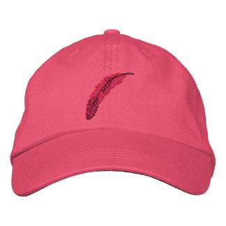 Pluma #1 gorras de béisbol bordadas