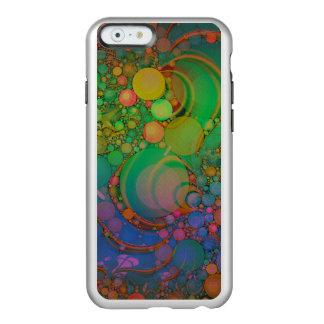 Pluma abstracta loca iPhone6 de Incipio/más el Funda Para iPhone 6 Plus Incipio Feather Shine