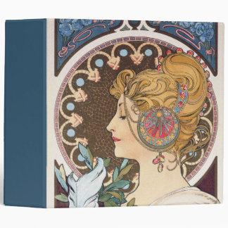 Pluma de Alfonso Mucha - arte Nouveau del vintage