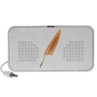 Pluma de canilla de la pluma notebook altavoz