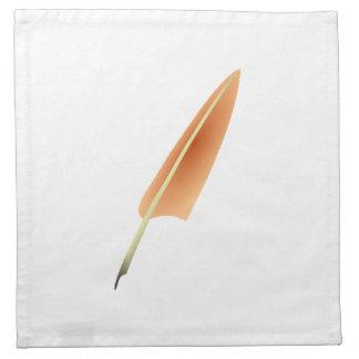 Pluma de canilla de la pluma servilletas