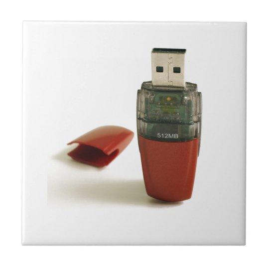 Pluma de destello de USB Azulejo Cuadrado Pequeño