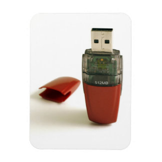 Pluma de destello de USB Imán Flexible