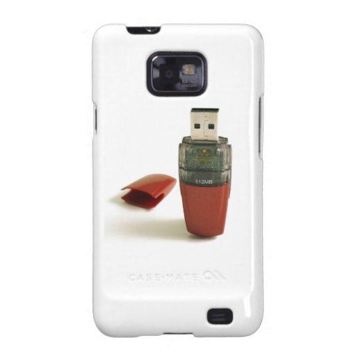 Pluma de destello de USB Samsung Galaxy S2 Funda