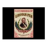 Pluma de Lincoln Tarjetas Postales