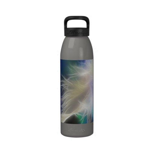 Pluma del ángel botellas de beber