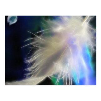 Pluma del ángel postal