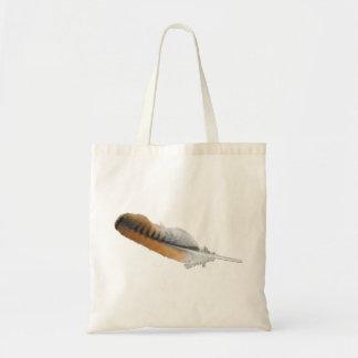 pluma del halcón de la Rojo-cola Bolsa De Mano