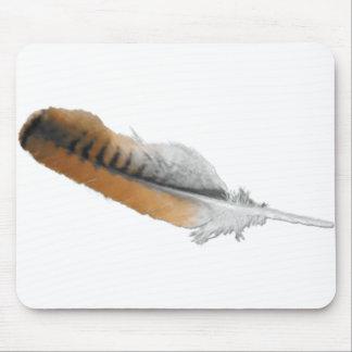 pluma del halcón de la Rojo-cola Alfombrilla De Raton