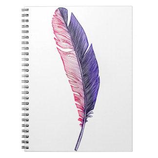 pluma libretas espirales