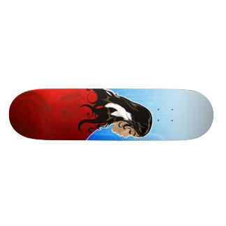Pluma nativa (favorable) patineta personalizada