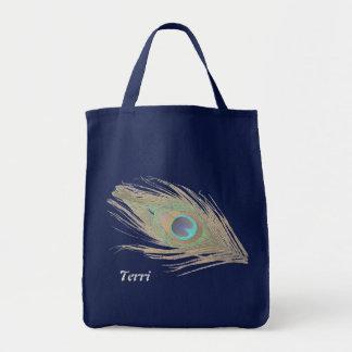 Pluma personalizada del pavo real