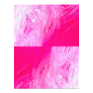 Pluma rosada, pluma rosada flyer a todo color