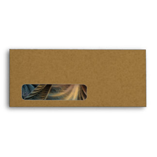 Plumage Abstract Art Envelope