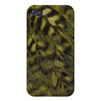 plumaje del kakapo iPhone 4/4S fundas