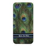 Plumaje del pavo real iPhone 5 cárcasas