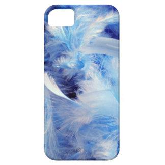 plumas azules del fondo background-14469 mullidas iPhone 5 Case-Mate protectores