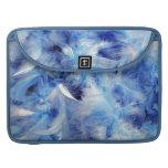 Plumas azules fundas macbook pro