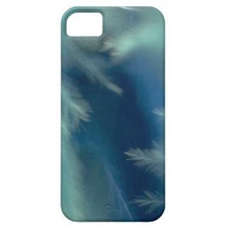 Plumas calmantes de la aguamarina iPhone 5 Case-Mate cárcasa