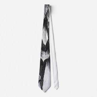 Plumas de plata del cordón corbata personalizada