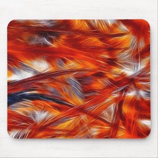 Plumas de una Phoenix - un Mousepad