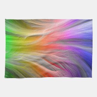Plumas del arco iris
