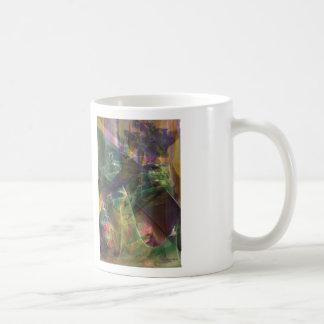 Plumas del caballo taza de café