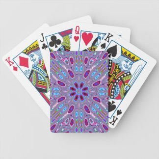 Plumas del pavo real baraja cartas de poker