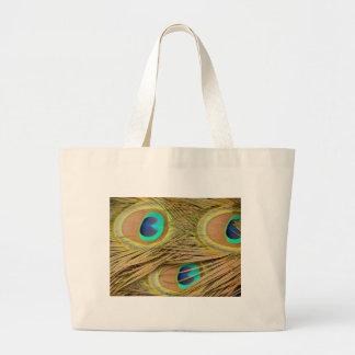 Plumas del pavo real bolsas