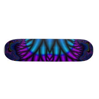 Plumas del pavo real tabla de skate