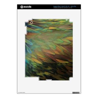 Plumas iPad 3 Pegatinas Skins