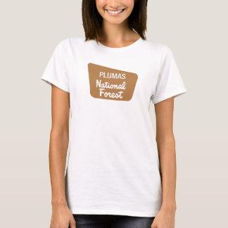 Plumas National Forest (Sign) T-Shirt