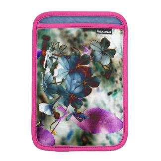 Plumbago Dusty Blue Flowers iPad Mini Sleeve