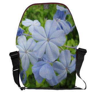 Plumbago Flower Blue Courier Bag