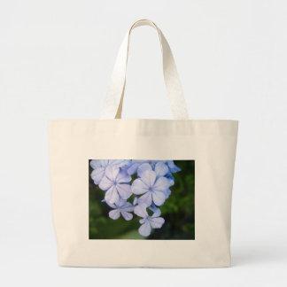 Plumbago Large Tote Bag