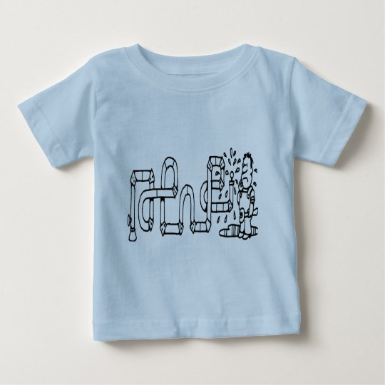 PLUMBER AND PIPES BABY T-Shirt