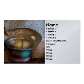 Plumber - Bath Day Double-Sided Standard Business Cards (Pack Of 100)