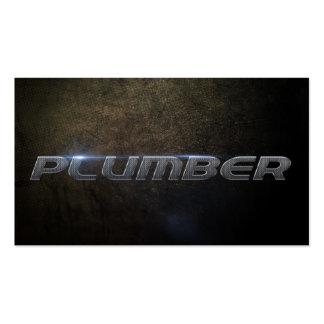 Plumber Business card Plantilla De Tarjeta Personal