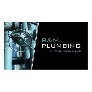 Plumber - Business Cards
