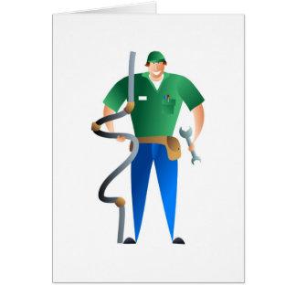 Plumber Card