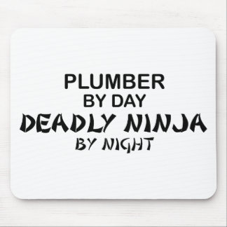 Plumber Deadly Ninja by Night Mouse Pad